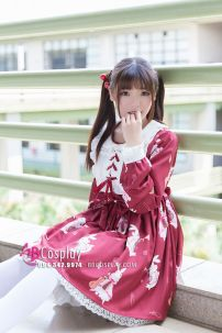 Đầm Ngọc Thố Kiểu Lolita