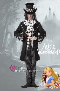Đồ Halloween Người Làm Mũ Mad Hatter Trong Alice In Wonderland