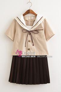 Váy Nữ Sinh Nhật Màu Ca Phê Sữa Váy Nâu