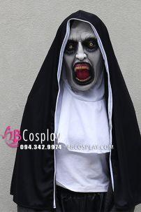 Mặt Nạ Valak - Mặt Nạ Halloween Nữ Tu