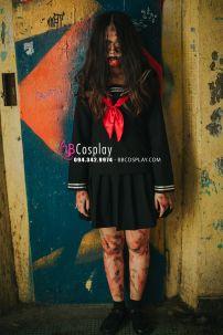 Đồ Ma Nữ Sinh Kiểu Nhật Cho Halloween