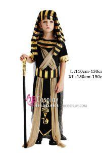 Trang Phục Pharaon Vua Ai Cập Cho Bé
