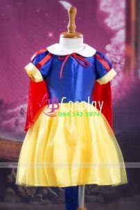 Đầm Công Chúa Bạch Tuyết Trẻ Em 1