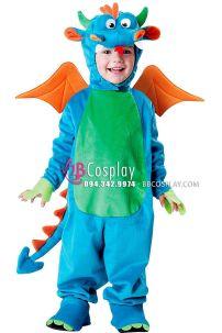 Trang Phục Con Rồng Cho Bé Dinky Dragon