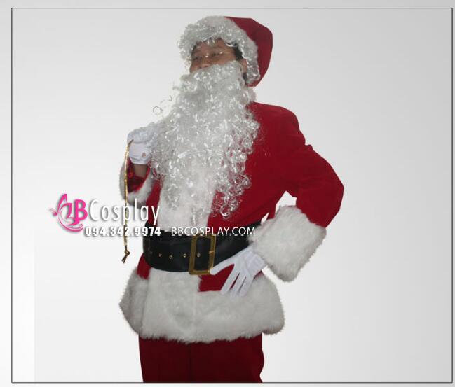 Trọn Bộ Đồ Ông Già Noel Siêu Cấp