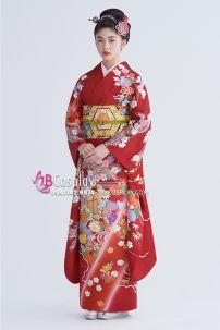 Kimono Truyền Thống Chuẩn Nhật