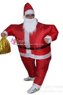 Trọn Bộ Đồ Ông Già Noel Bơm Hơi