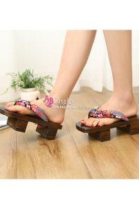 Guốc Gỗ Nhật Cho Nữ Size 40