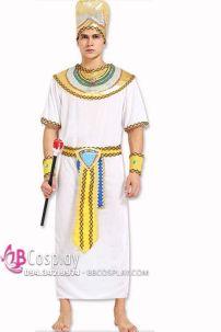 Đồ Vua Ai Cập Nam Màu Trắng
