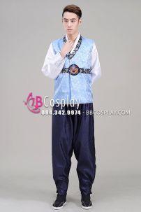 Hanbok Của Hàn Quốc Cho Nam Vải Gấm