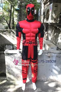 Bộ Đồ Deadpool Độn Cơ Bắp