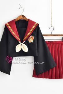 Đồ Nữ Sinh Cosplay Nhà Gryffindor - Harry Potter