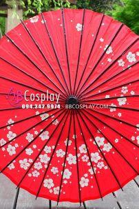 Ô Wagasa Nghệ Thuật Nhật Bản Tím Hoa Đào