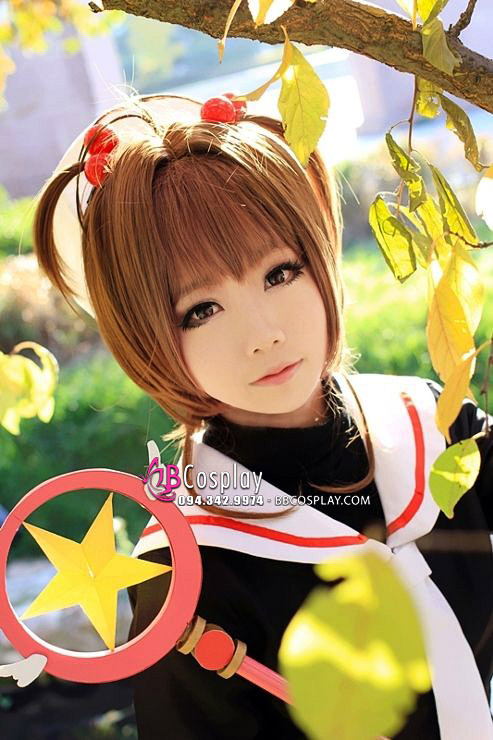 Tóc Giả Sakura Cardcaptor