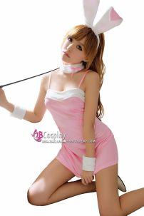 Đồ Thỏ Hồng Sexy Bunny Kiểu Playboy