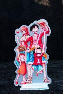 Mô Hình Standee One Piece - Family Luffy Và Nami