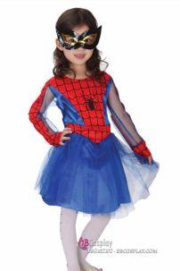 Đồ Người Nhện Bé Gái Spider Girl For Kid