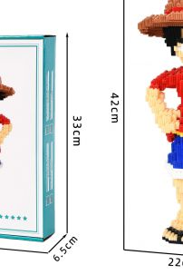 Mô Hình Lego One Piece - Luffy Lớn