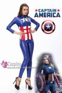 Trang Phục Captain American Nữ