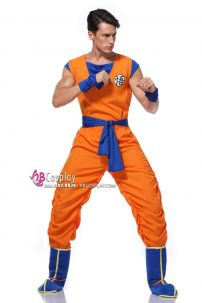 Bộ Đồ Cosplay Son Goku Người Lớn
