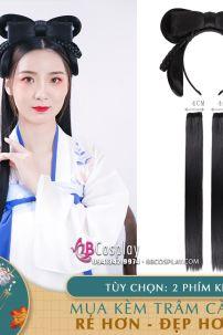Tóc Giả Hán Phục Style Sẵn Đẹp Dễ Dùng