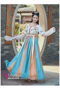 Đôn Hoàng Lạc Tuyết Váy 4.5m
