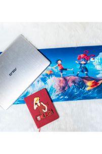 Lót Chuột Dài 3D Luffy - Ace - Sabo