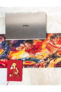 Lót Chuột Dài 3D One Piece Luffy - Ace - Sabo