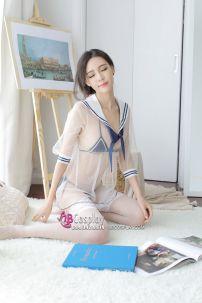 Đầm Thuỷ Thủ Sexy Kiểu Học Sinh Nhật