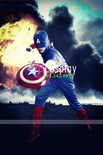 Trang Phục Captain American 1