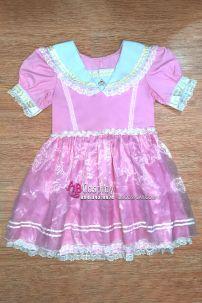 Đầm Lolita Hồng Hàng May Vải Dày Xịn Bền Đẹp Rẻ