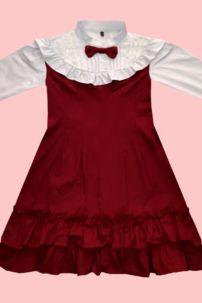 Đầm Lolita Mùa Đông Noel Giáng Sinh New Year Hàng May Vải Dày Xịn Bền Đẹp Rẻ