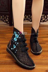 Giày Thêu Hán Phục Đế 2.5cm Size 38