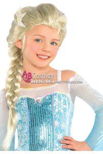 Tóc Giả Công Chúa Ela Cho Bé - Tóc Giả Cosplay Elsa