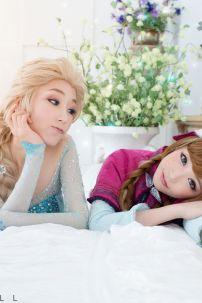 Tóc Elsa Tóc Giả Hóa Trang Công Chúa Elsa