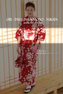 Đai Lưng Cho Kimono Nhật Hình Cá Vàng