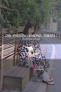 Đai Lưng Cho Kimono Mèo Đen