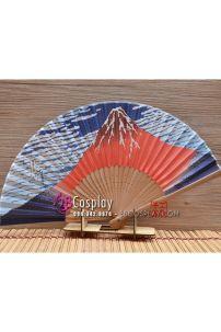Quạt Nhật Cán Gỗ - Núi Phú Sĩ
