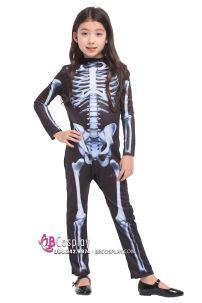Trang Phục Halloween Bộ Xương Trẻ Em