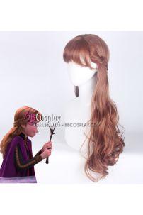 Tóc Giả Nâu Hạt Dẻ Công Chúa Anna Trong Frozen 2