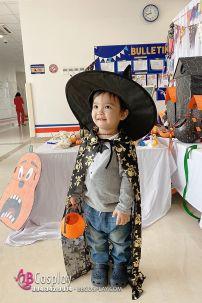 Áo Choàng Halloween Đầu Lâu 80cm