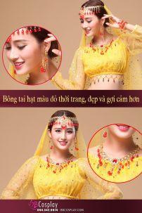 Phụ Kiện Belly Dance - Bông Tai Kẹp