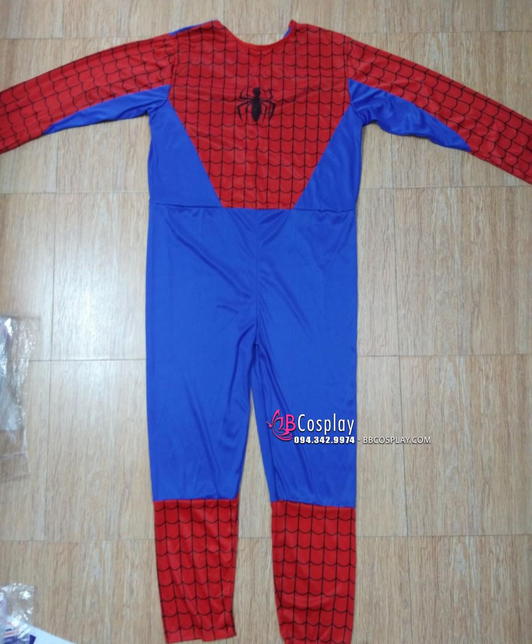 Trang Phục Spiderman Vải Thun Giá Rẻ