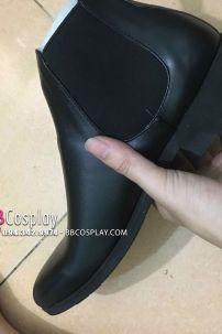 Giày Tay Nam Đen Size 42 Da Xịn Chuẩn Âu