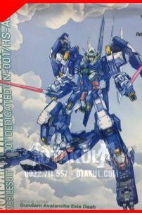 Mô Hình Gundam AVALANCHE EXIA DASH - Gundam MG 1:100