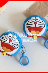 Vỏ Đựng Airpod Doraemon Mặt Cười