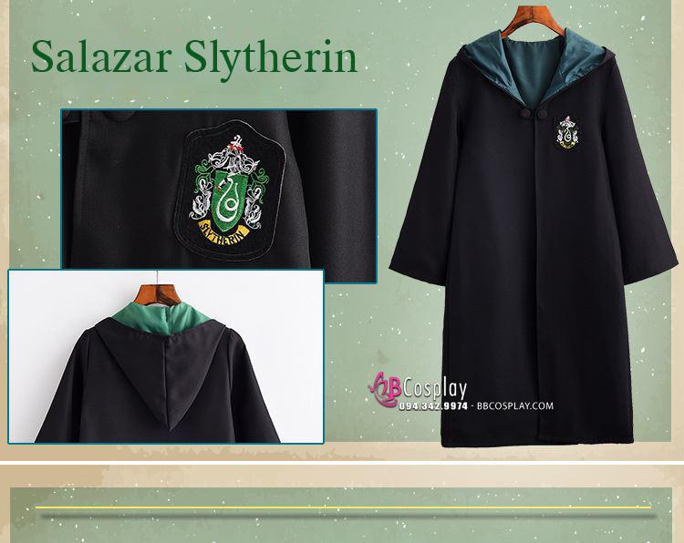 Trang Phục Harrypotter Salazar Slytherin