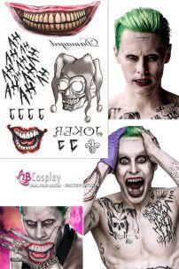 Bộ Hình Xăm Joker Suicide Squad 2