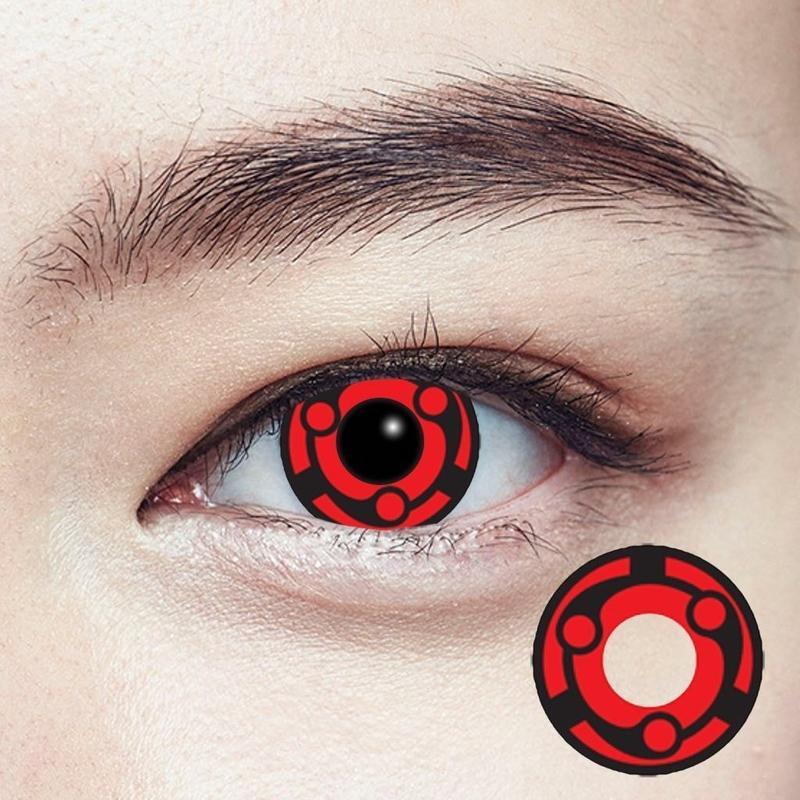 Lens Cosplay - Madara Mangekyou Sharingan