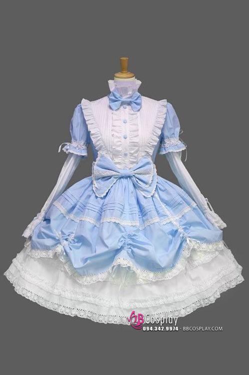 Đầm Lolita Thiên Sứ Bầu Trời